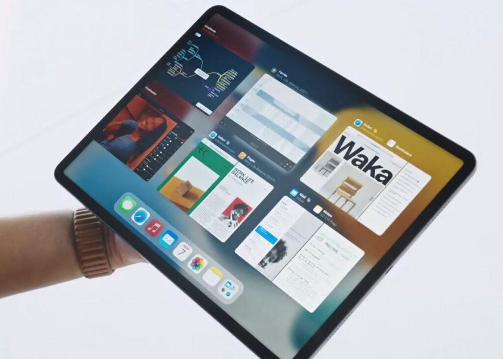 ipadOS 15 multitasking